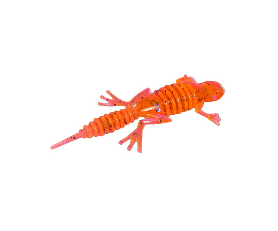 """Силиконовая приманка Big Baits Gekko 1.6"""" #103 Fire Carrot"""